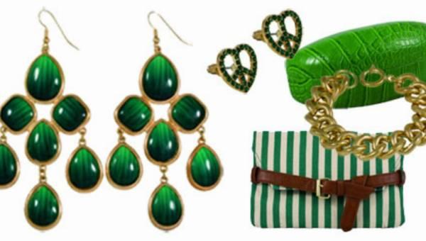 Zielona kolekcja biżuterii i dodatków SIX
