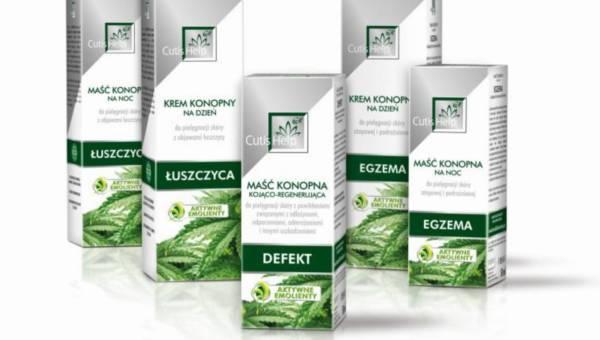 Aktywne Emolienty na bazie oleju konopnego –  nowa formuła w leczeniu, profilaktyce i regeneracji skóry