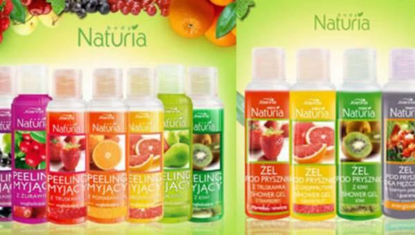 Naturia Body – siła naturalnych ekstraktów roślinnych i owocowych