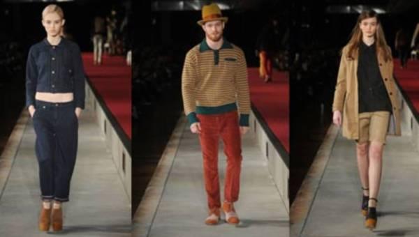 Premiera kolekcji marki Levi's na sezon jesień-zima 2012 podczas New York Fashion Week