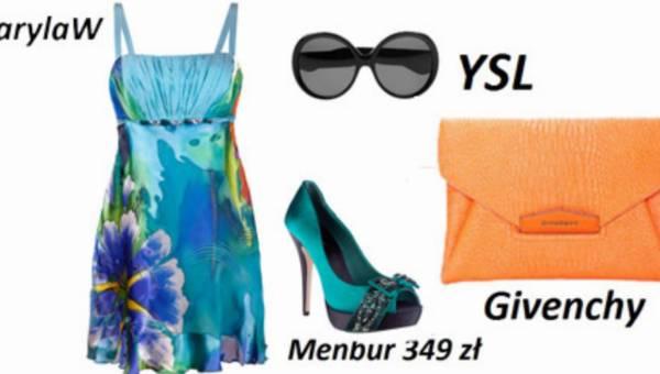 Błękit lazuru – trendy wiosna 2012
