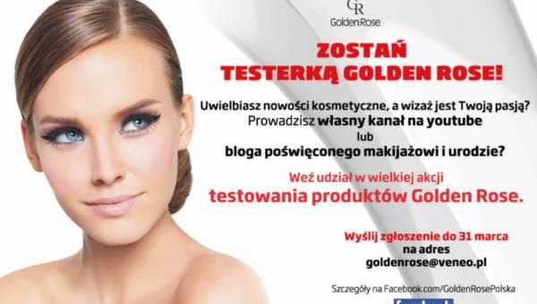 Firma Golden Rose zaprasza blogerki do testowania swoich kosmetyków