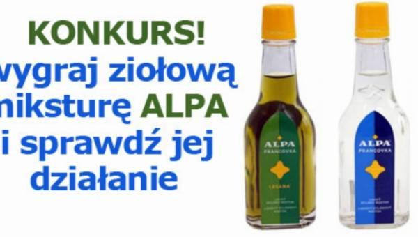 KONKURS: ALPA – poznaj zalety ziołowej mikstury według czeskiej receptury
