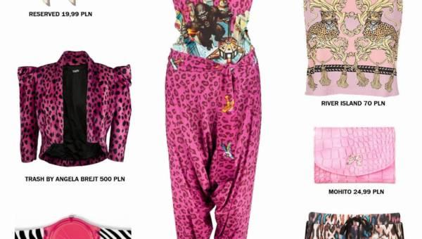Animal Planet czyli motywy zwierzęce  – moda wiosna 2012