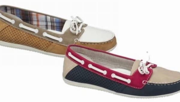 Deichmann wiosna 2012 – mokasyny w marynarskim stylu – idealne na ciepłe dni