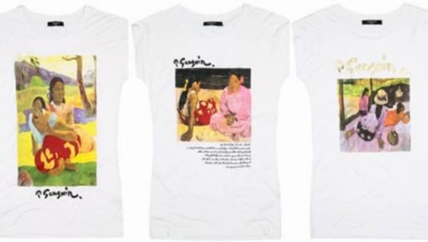 Malarstwo GAUGUINA na t-shirtach RESERVED