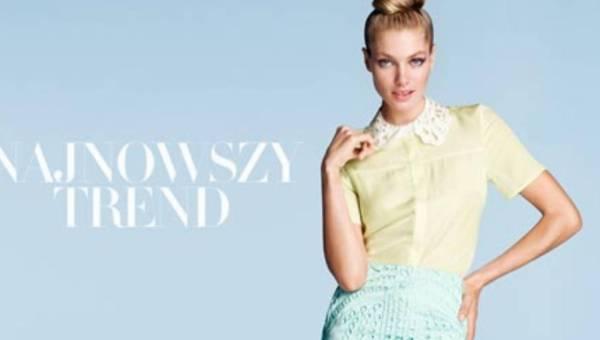 Najnowszy trend w H&M – Pastele