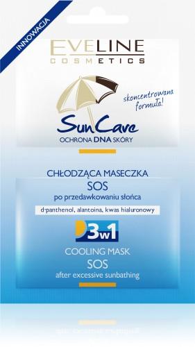 Eveline Cosmetics maseczka Sun Care SOS po przedawkowaniu słońca,