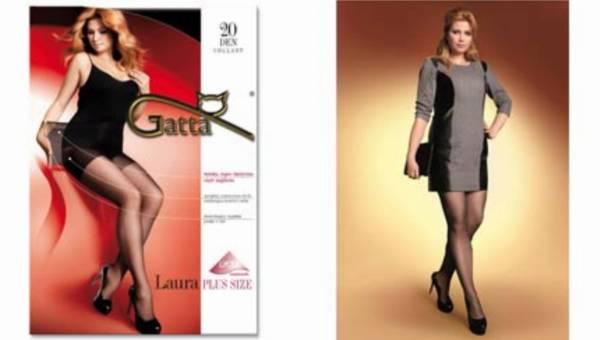 Rewolucja od Gatty – Laura Plus Size – rajstopy dla kobiet o pełnych kształtach