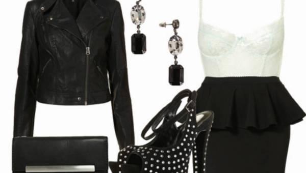 Stylizacje Any: Black&White