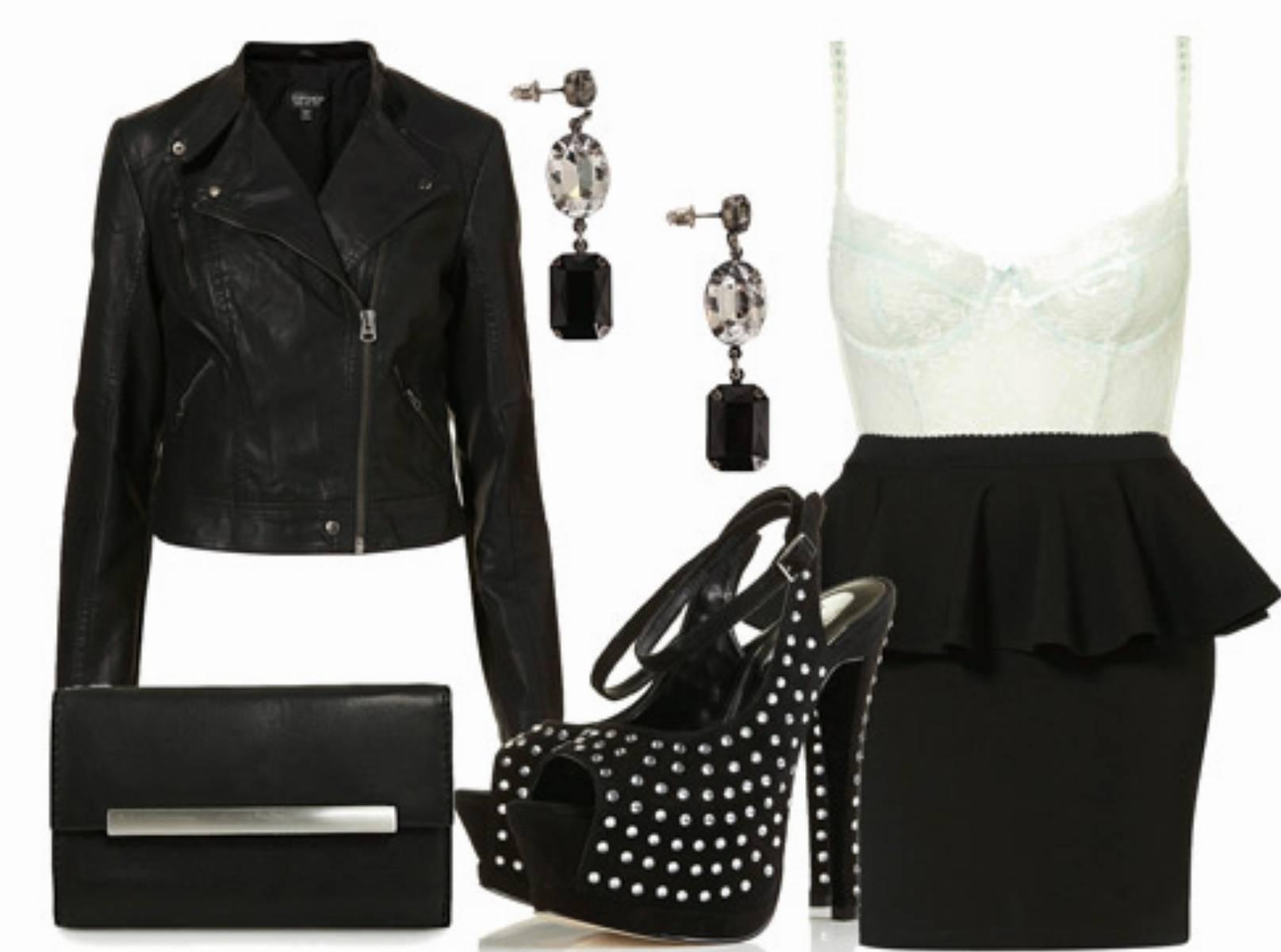 Stylizacje Any black&white