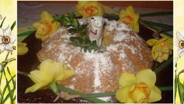 Wasze przepisy: Babka Wielkanocna – Baranek