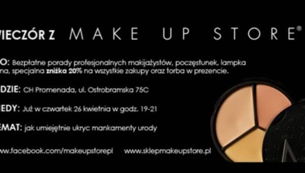Złota rada Make Up Store: darmowe zaproszenie na wieczór z Make Up Store
