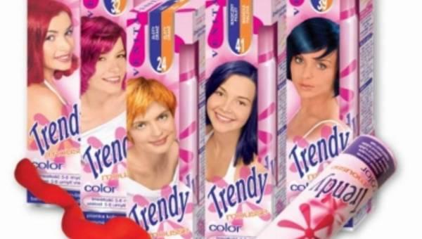 Pianki koloryzujące do włosów! VENITA: TRENDY COLOR