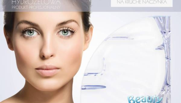 Beautyface odmładzająca szokowa maska kolagenowa do skóry delikatnej i na kruche naczynka
