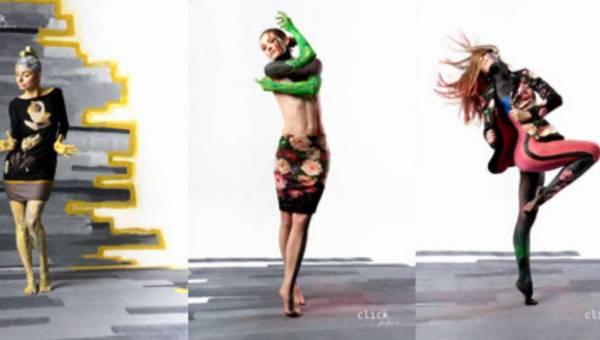 CLICK FASHION –  kolekcja wiosna-lato 2012 we współpracy z Art. Color Ballet