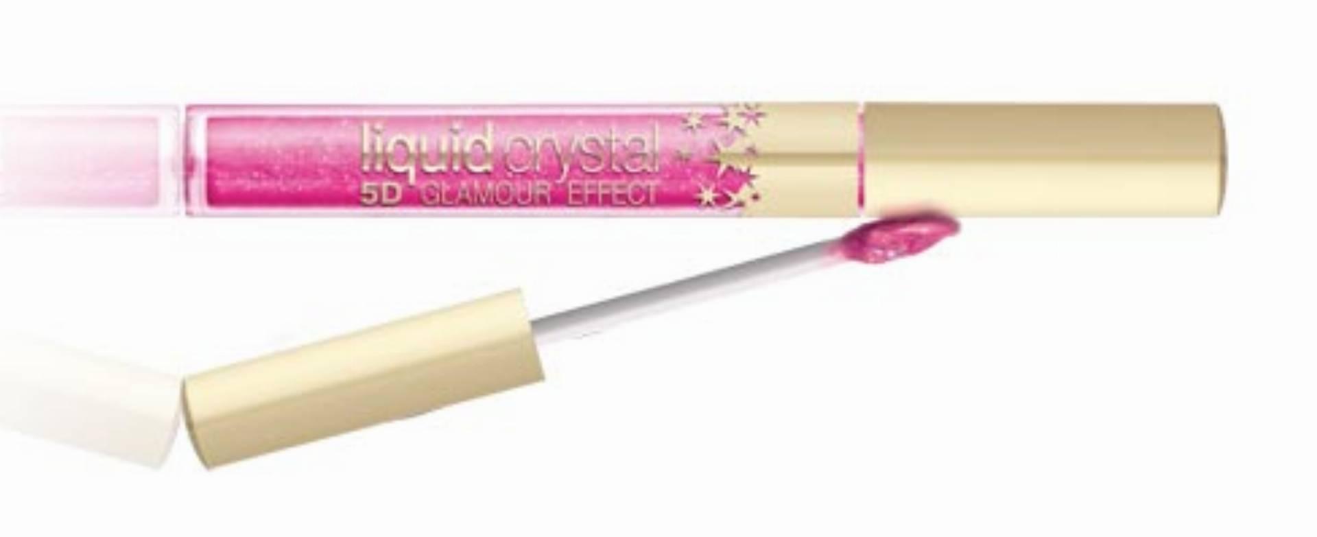 Eveline Cosmetics - blyszczyka  Liquid Crystal 5D Glamor Effect