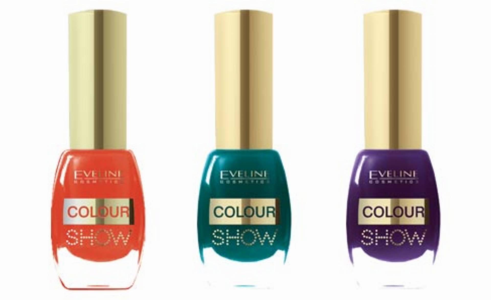 Eveline Cosmetics - lakiery Colour Show