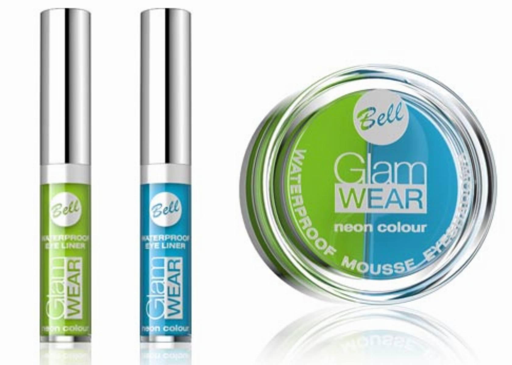 GLAM WEAR Neon colour - cienie i eyelinery