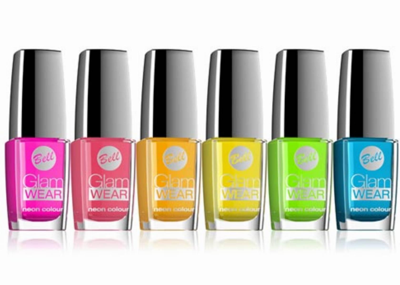 GLAM WEAR Neon colour - lakiery do paznokci