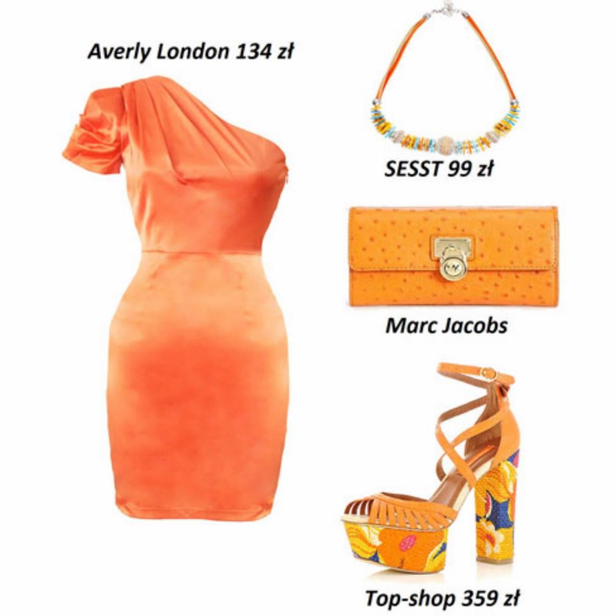 Pomaranczowe stylizacje