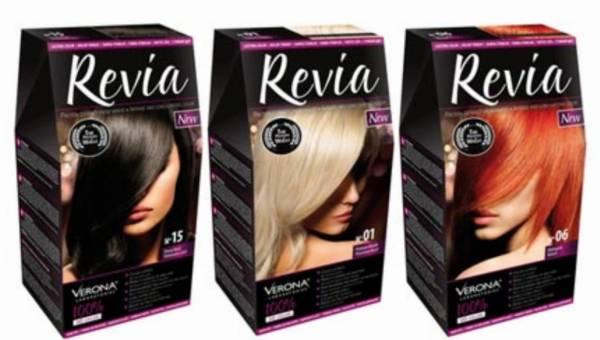100 % koloru na lato – farby do włosów REVIA