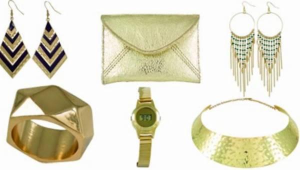 Gorączka sobotniej nocy –  złota kolekcja biżuterii SIX