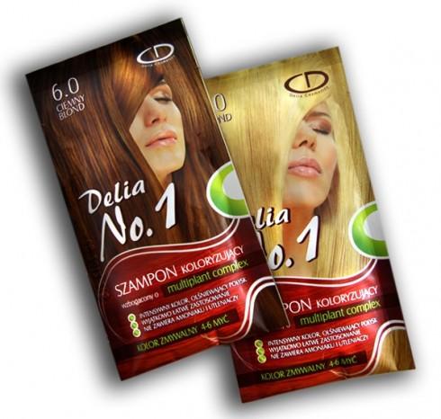 delia szampon koloryzujący