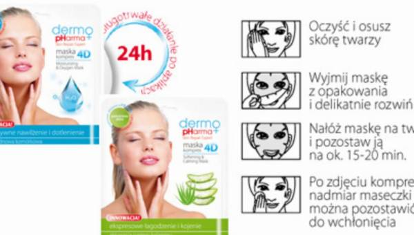 DermoPharma – nowa marka na rynku – przegląd maseczek (cz.1)
