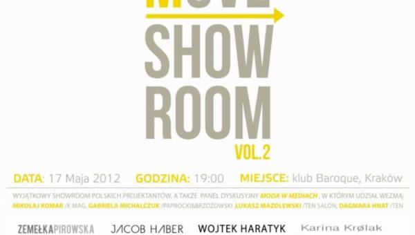 MOVE Showroom vol.2 w Krakowie
