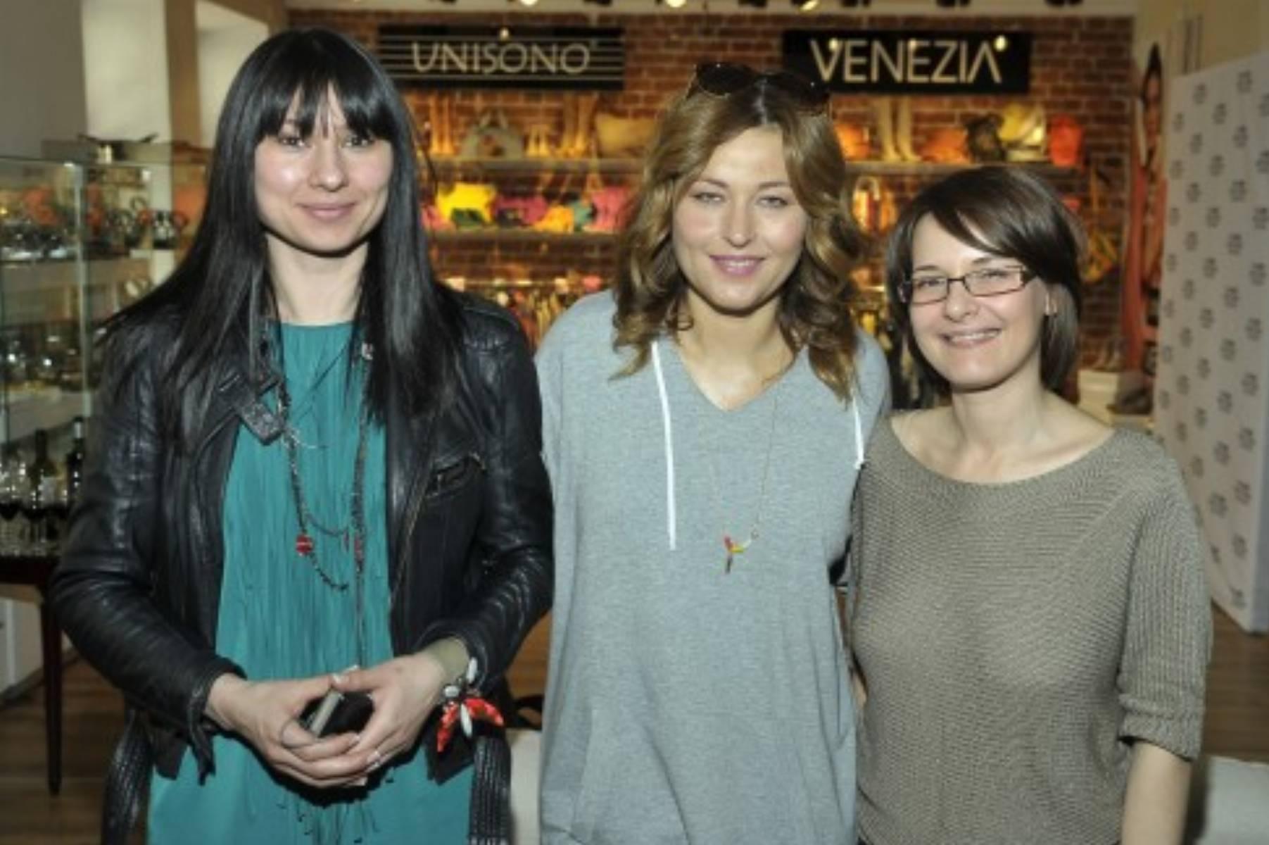 Hanna Maron(Specjalista ds. wizerunku Venezia), Beata Sadowska, Magdalena Stępień (dział marketingu Venezia,Unisono)