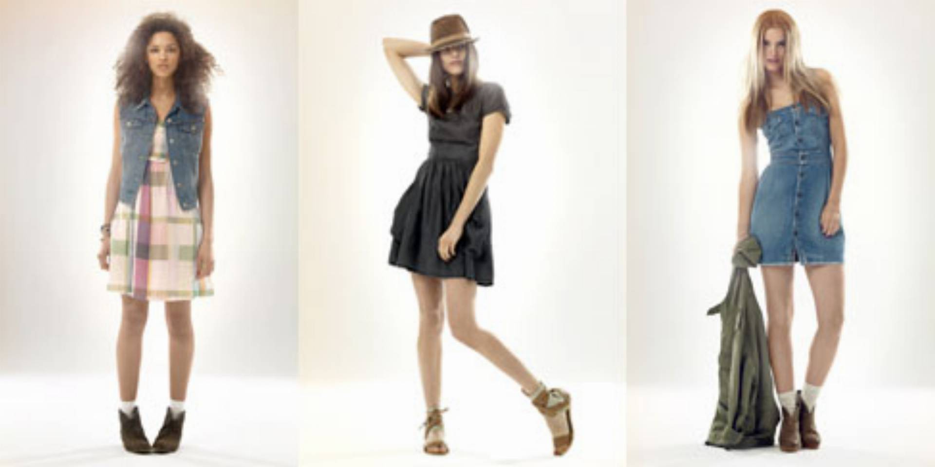 Levis lato 2012 - zwiewne sukienki