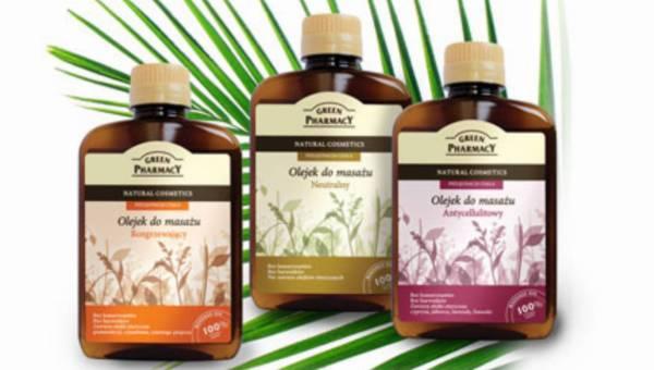 Wykorzystaj moc roślin – olejki do masażu GREEN PHARMACY