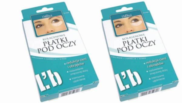 L'biotica Kolagenowe płatki pod oczy – redukują cienie i obrzęki