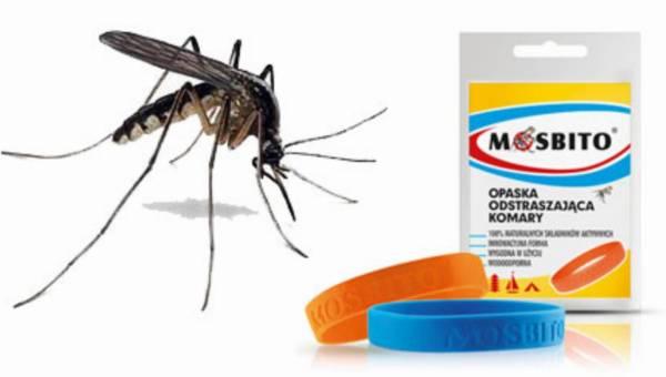 Opaska Mosbito – modna i kolorowa ochrona przed komarami