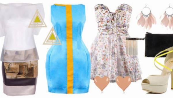 Stylizacje – modne weselne sukienki i akcesoria