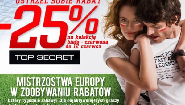 Mistrzostwa Europy w Zdobywaniu Rabatów – akcja Top Secret