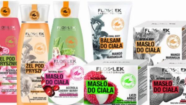 Ciało kuszące owocami – kosmetyki pielęgnacyjne  z serii Natural Body marki Floslek