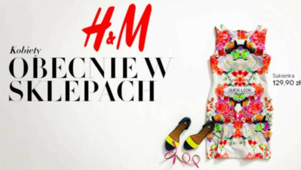 Najnowsze propozycje od H&M na lato 2012