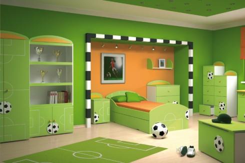 Jak urządzić pokój dla dziecka - styl piłkarski - KobietaMag.pl