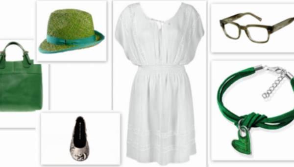 Go GREEN! – czyli zielone stylizacje na lato 2012