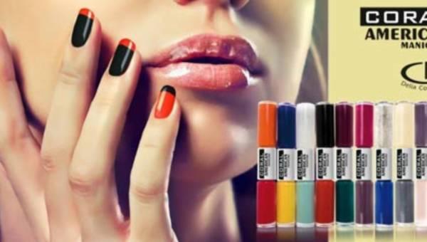 Manicure francuski w kolorowej odsłonie od Delia Cosmetics