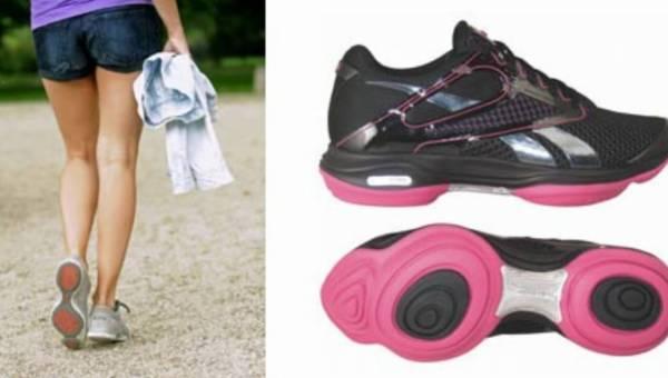 Anna Mucha sprawdziła skuteczność obuwia Reebok EasyTone pokonując w nim 370 000 kroków