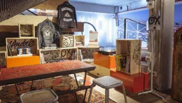 Nowa odsłona artystycznych działań w Levi's Store przy Champs Elysees