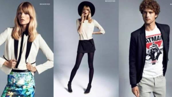 Moda od RESERVED na sezon jesień zima 2012 -2013