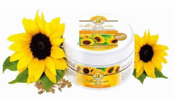 Wasze opinie: Odżywcze masło do ciała z olejem z pestek słonecznika od Joanny