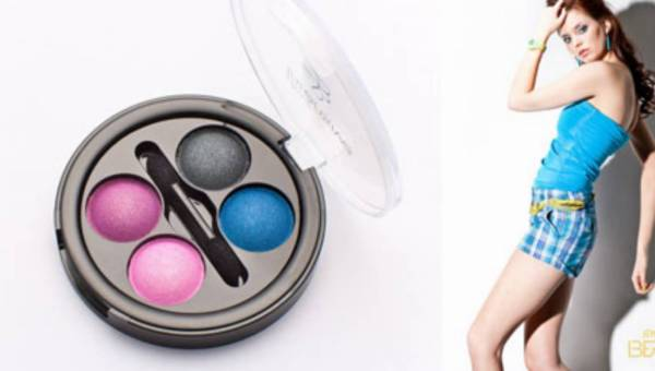 Nowa kolekcja neonowych cieni Simple Beauty four Intensive