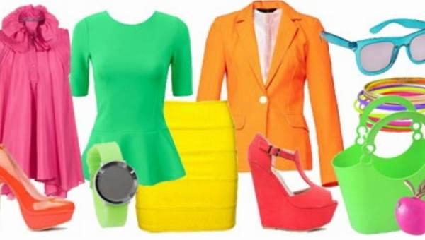 Terapia kolorem – neon na lato