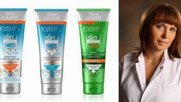 Wypowiedź eksperta – nowe kosmetyki Slim Extreme 4D Eveline Cosmetics