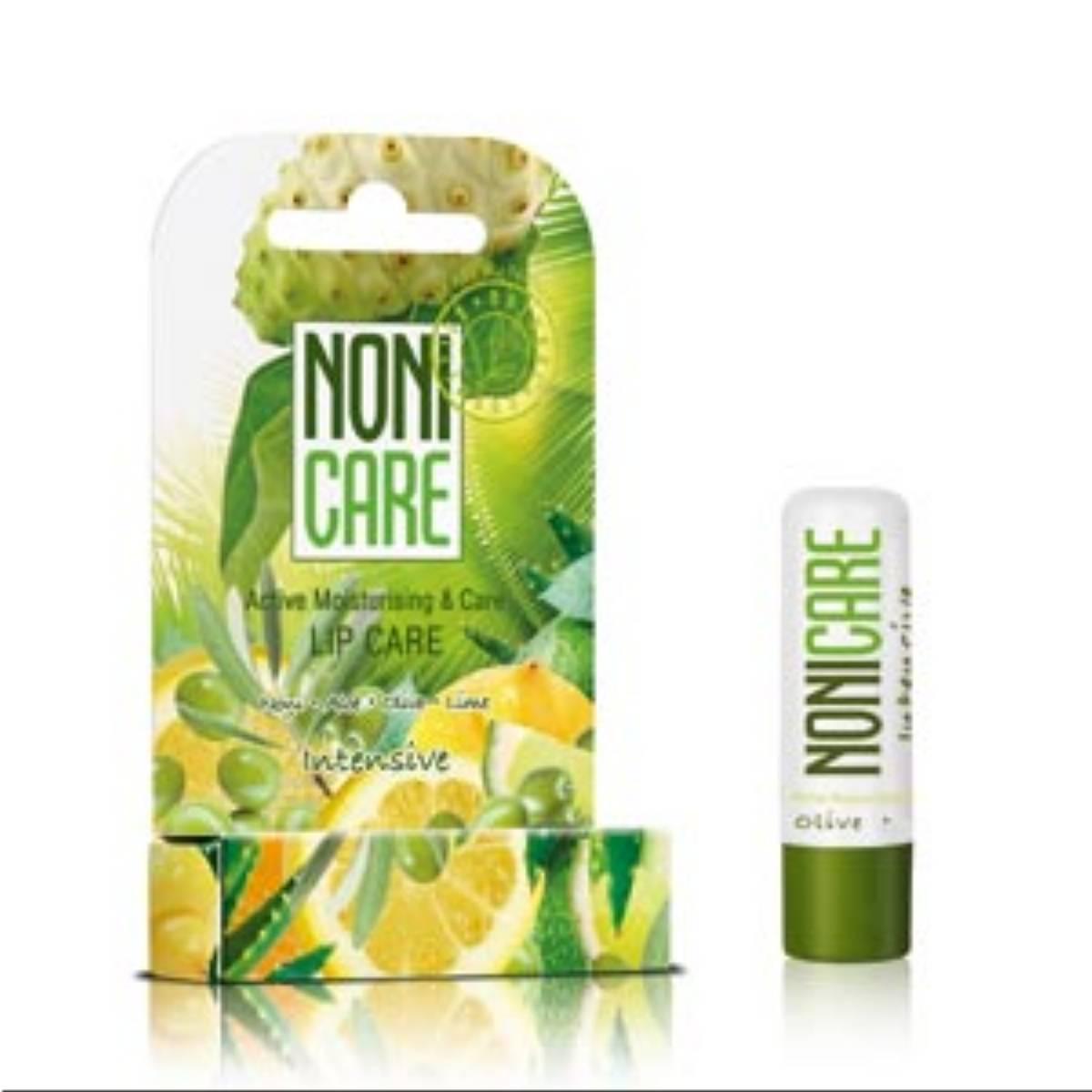 Pomadka ochronna Noni Care Intensive Active Moisturising & Care - Oliwki, Aloes i Limonka